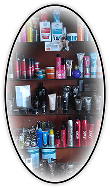 Oval Graphic for Hair Products sold at Klassy Kuts
