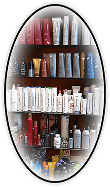 Oval Graphic of Hair Products for sale at Klassy Kuts 2